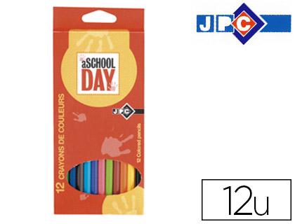 CRAYONS SCHOOL DAY PACK DE 12