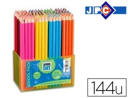 CRAYONS SCHOOL DAY PACK DE 144