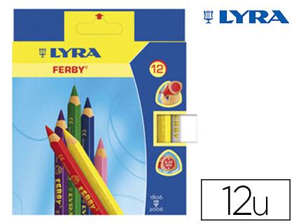 CRAYONS FERBY PACK DE 12