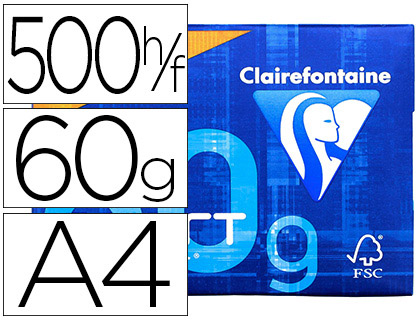CLAIREFONTAINE SMART PRINT PAPER A4 60G