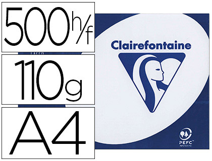 CLAIREFONTAINE CLAIRALFA A4 110G