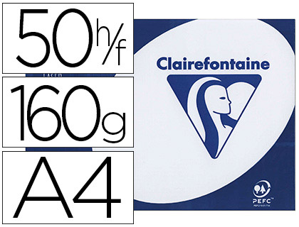 CLAIREFONTAINE CLAIRALFA A4 160G