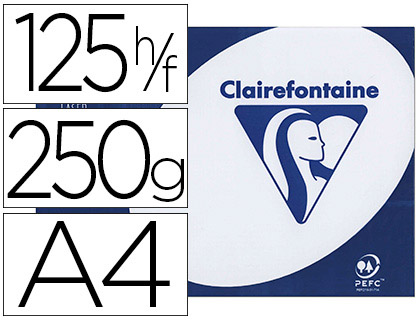 CLAIREFONTAINE CLAIRALFA A4 250G