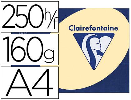 CLAIREFONTAINE TROPHÉE JAUNE CANARI A4 160G