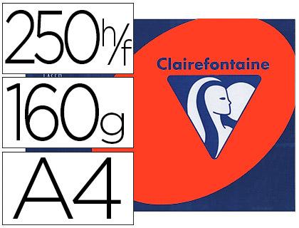 CLAIREFONTAINE TROPHÉE ROUGE CARDINAL A4 160G
