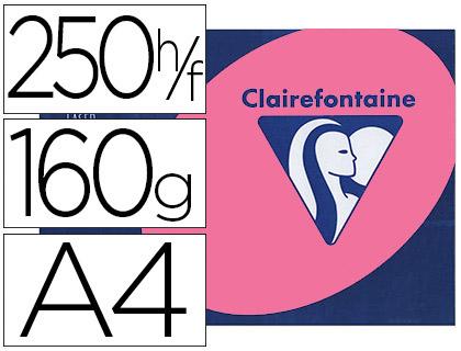 CLAIREFONTAINE TROPHÉE ROSE FUCHSIA A4 160G