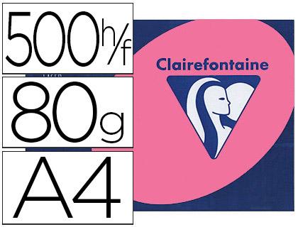 CLAIREFONTAINE TROPHÉE FLUORESCENT ROSE A4 80G