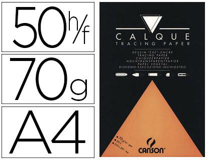 CANSON BLOC CALQUE ARTS GRAPHIQUES