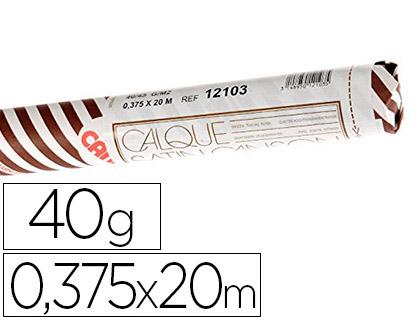 CANSON CALQUE SATIN ROULEAU 0.375X20M