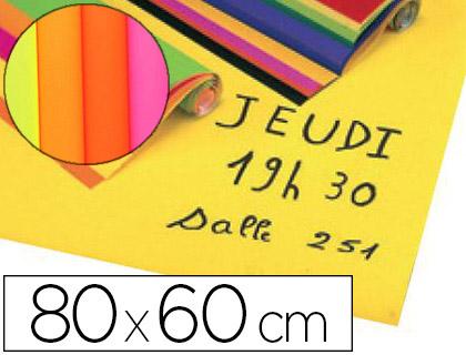AFFICHE ASSORTIS FLUO 60X80CM 90G PACK DE 10