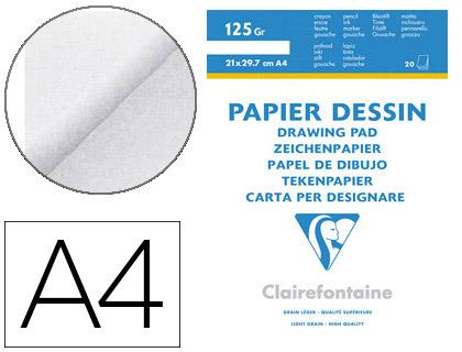 BLOC DESSIN A4 125G
