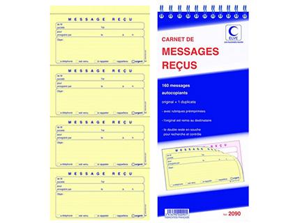 BLOC MESSAGES REÇUS