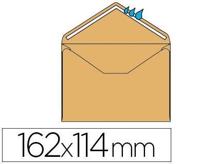 ENVELOPPES ADMINISTRATIVES 114X162MM BULLES