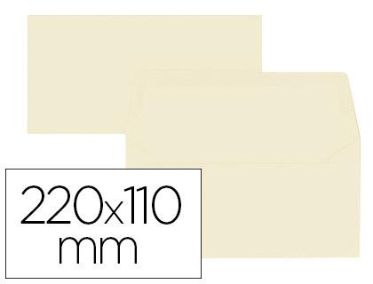 ENVELOPPES 110X220MM VANILLE