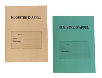 REGISTRE D\'APPEL JOURNALIER DÉCOUPÉ