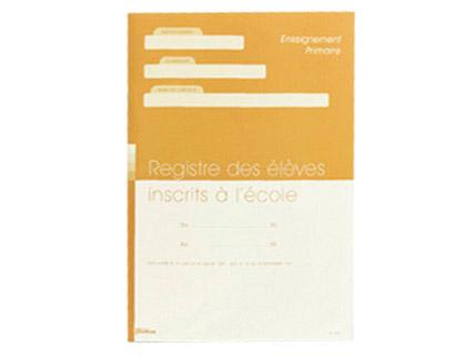 REGISTRE DES ÉLÈVES INSCRITS POUR ENSEIGNANTS