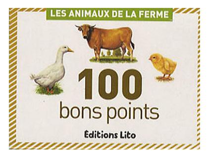 BONS POINTS ANIMAUX DE LA FERME