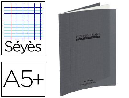 PIQUÉ POLYPRO 17X22CM 48 PAGES SÉYÈS GRIS