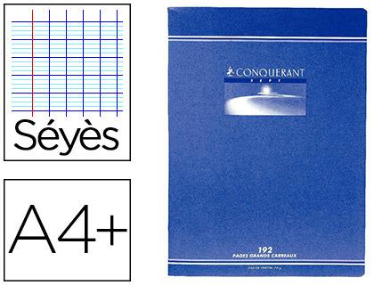 PIQUÉ CONQUERANT SEPT 24X32CM 192 PAGES SÉYÈS