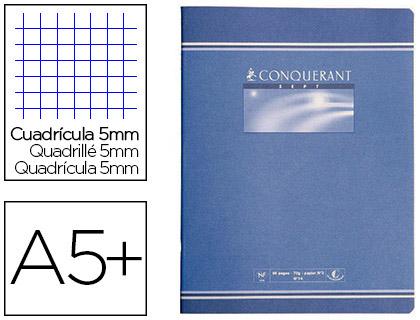 PIQUÉ CONQUERANT SEPT 17X22CM 96 PAGES PETITS CARREAUX