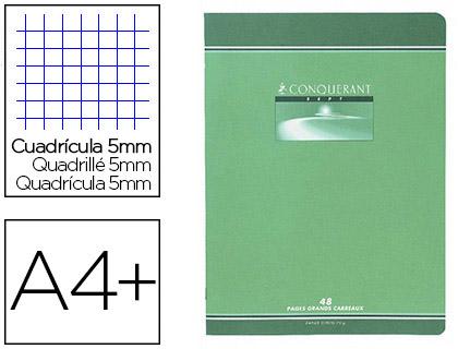 PIQUÉ CONQUERANT SEPT 24X32CM 96 PAGES PETITS CARREAUX