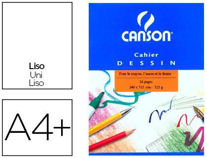 CAHIER DE DESSIN 24X31.5CM 24 PAGES