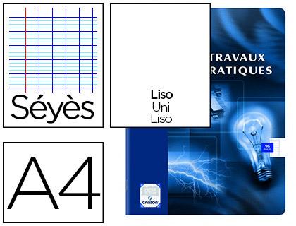 PIQUÉ 21X29.7CM 40 PAGES SÉYÈS + 40 UNIES