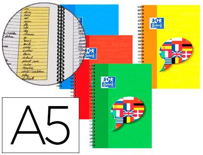 CAHIER DE VOCABULAIRE 14.8X21CM 96 PAGES