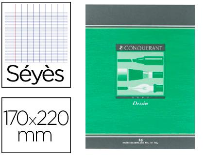 CAHIER DE DESSIN 17X22CM 16 PAGES