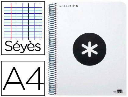 ANTARTIK 21X29.7CM 240 PAGES SÉYÈS BLANC