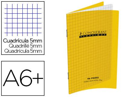 CLASSIQUE 110X170MM 96 PAGES JAUNE