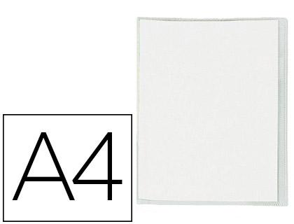 CRISTAL PVC 21x29.7CM AVEC RABAT INCOLORE