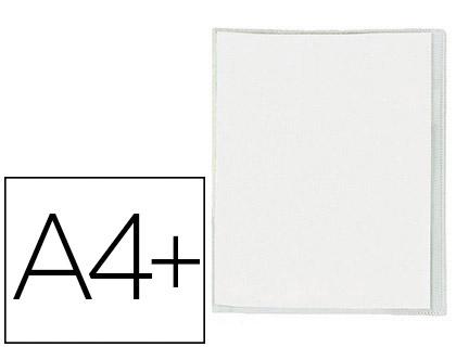 CRISTAL PVC 24x32CM AVEC RABAT INCOLORE