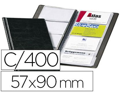 VISIFIX GRAIN CUIR 400 CARTES