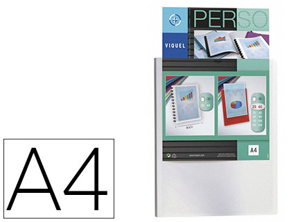 COVER PERSONNALISABLE A4 80 VUES BLANC