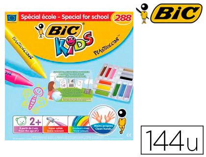 KIDS PLASTIDECOR TRIANGLE COFFRET SCOLAIRE DE 144