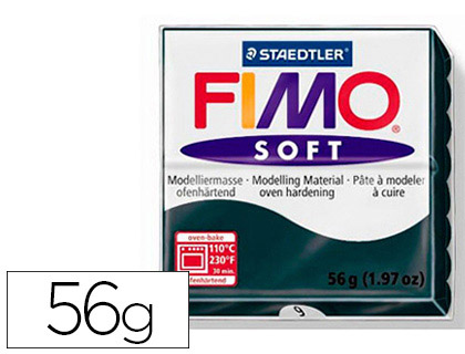 FIMO SOFT 56G NOIR