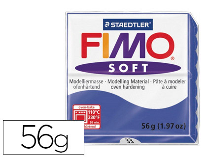 FIMO SOFT 56G BLEU BRILLANT