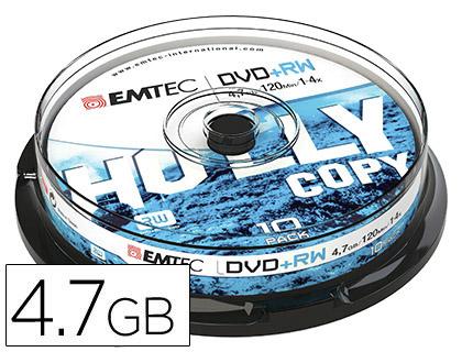 DVD+R RÉINSCRIPTIBLE TOUR DE 10