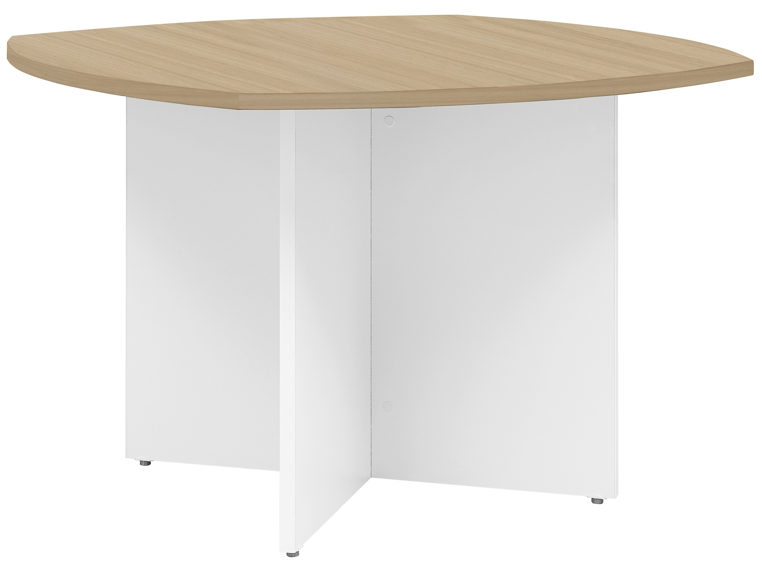 YES/XERUS CHÊNE NATUREL TABLE RONDE