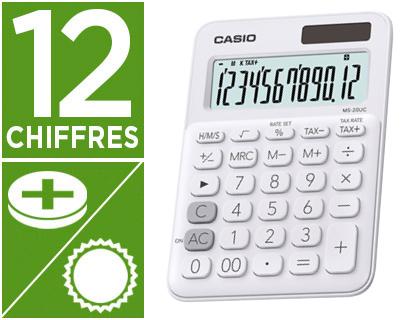CASIO MS-20UC 12 CHIFFRES