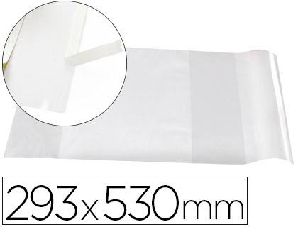 COUVRE-LIVRES PVC N°29 285X530MM INCOLORE