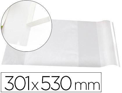 COUVRE-LIVRES PVC N°30 296X530MM INCOLORE