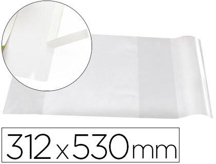 COUVRE-LIVRES PVC N°31 312X530MM INCOLORE