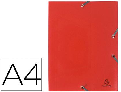 CHEMISE A4+ 3 RABATS ROUGE