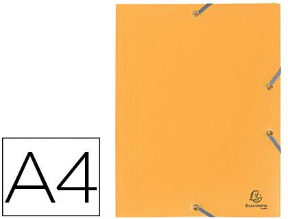 CHEMISE A4+ 3 RABATS JAUNE