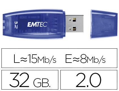 CLÉ USB C410 COLOR MIX 2.0 BLEU 32Go