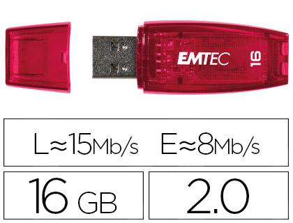 CLÉ USB C410 COLOR MIX 2.0 ROUGE 16Go