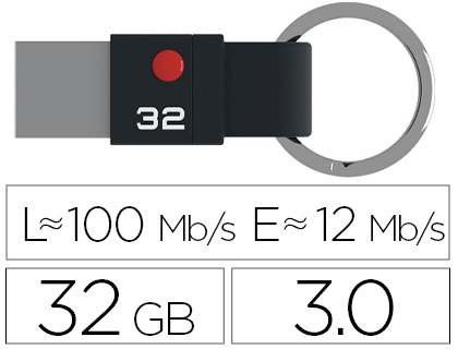 CLÉ USB 3.1 NANO RING T100 32Go