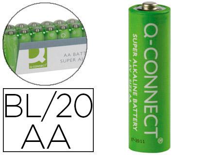 PILES ALCALINES AA/LR06 PACK DE 20